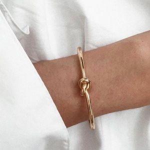 Love Knot Cuff Tie Bangle Bracelet Gifts